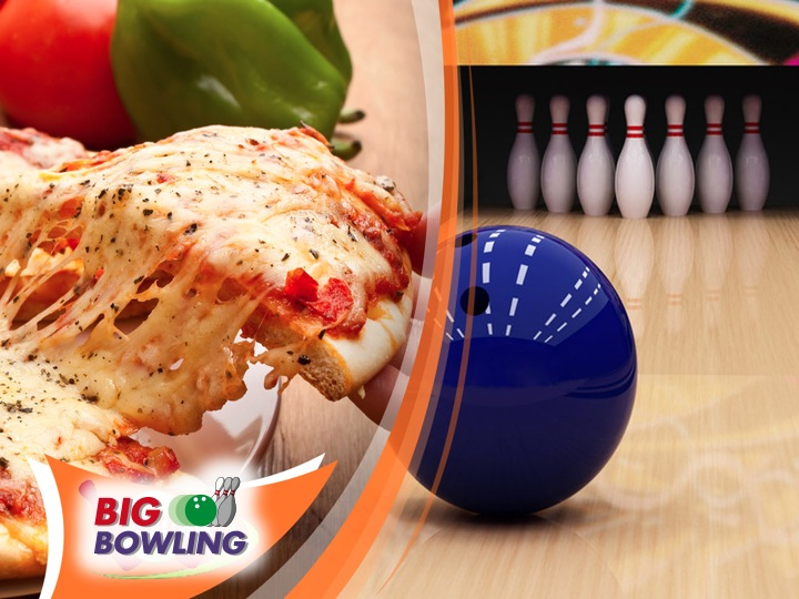 PIZZA BOWLING X 4 PERSONE